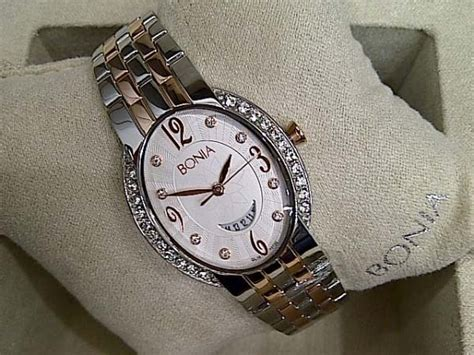 Jam Tangan Wanita Bonia 3095 Kombinasi Rosegold promo jam tangan wanita bonia bnb10126 original