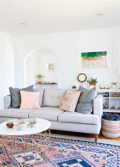 a bohemian california home with international decor