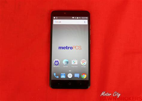 Android Z981 by Zte Zmax Pro Z981 32 Gb Blue Metro Pcs Smartphone