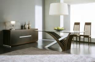 modern home accessories on dining room table home