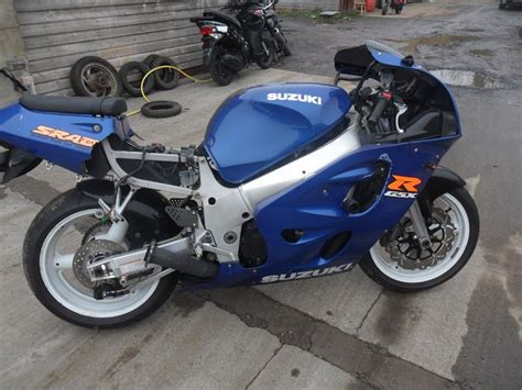 Suzuki Gsxr 600 Parts 2000 Suzuki Gsxr 600 Y Srad Petrol Manual Breaking For