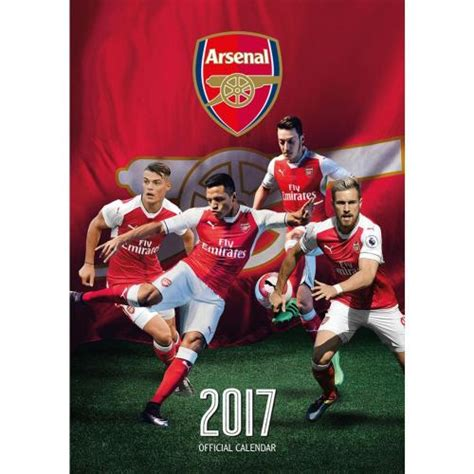 arsenal calendar arsenal f c calendar 2017 for only 163 11 23 at