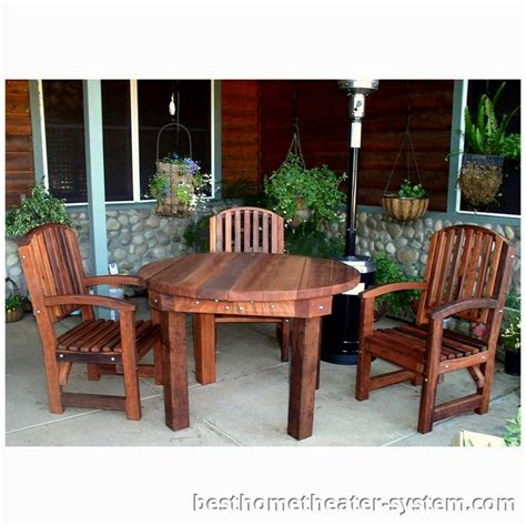 Redwood Patio Set by Redwood Patio Furniture 12 Best Home Theater Systems