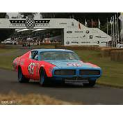 1972 Dodge Charger NASCAR Race Car Sports Richard Petty Racing Track