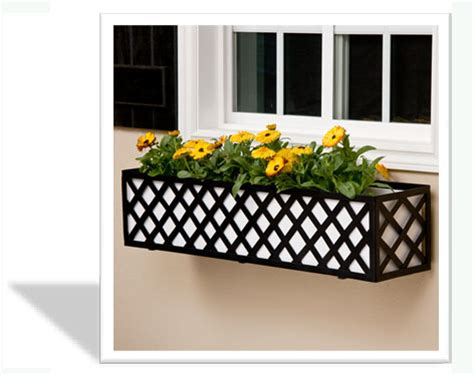 installing window boxes install guide iron and aluminum window box cages