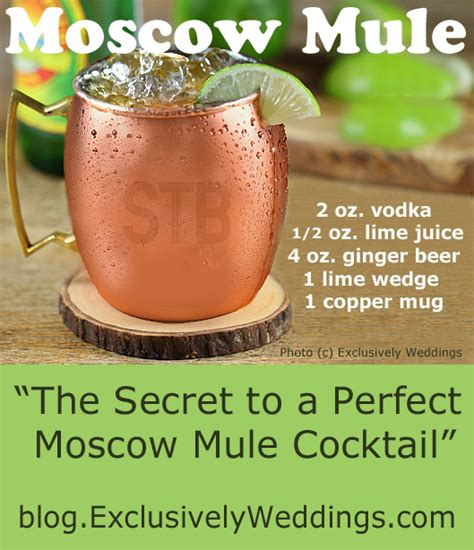 the secret to a perfect moscow mule cocktail exclusively
