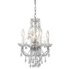Canadian Tire Chandelier Home Collection Opulence Chandelier 4 Light Canadian Tire