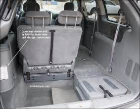 Dodge Caravan Cargo Space Dimensions 2005 2007 Dodge Caravan And Chrysler Town Country
