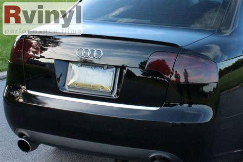 professional tail light tint pro precut smoke taillight tint film kit audi a4 s4 sedan