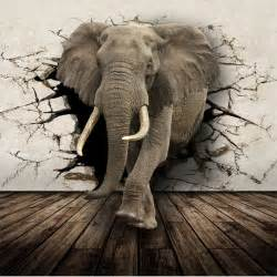 aliexpress com buy 3d lifelike animal mural wallpaper elephant wall mural xxl4 529 by komar