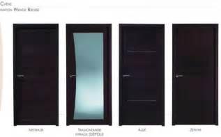 portes interieures design porte interieur bois design images