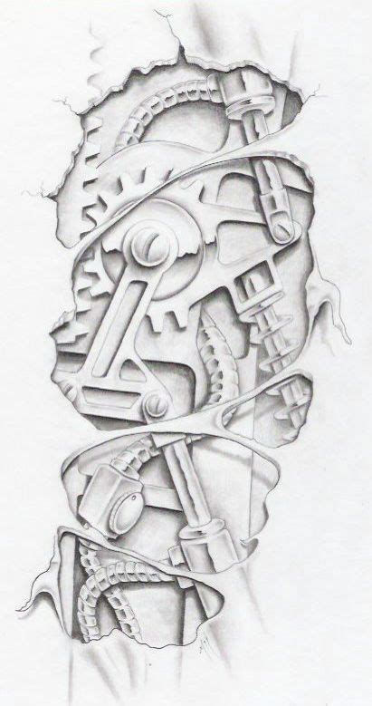 biomechanical tattoo flash books 1000 images about tat on pinterest