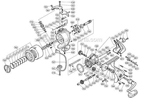 shimano stradic parts diagram shimano st 5000fh parts list and diagram