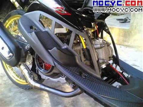 Mio Sporty Engine Modification by Yamaha Mio Scooters Modified And Customized Part 2