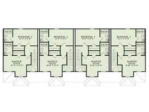 Strip Mall Floor Plans apartment house plans 4 living units two story design