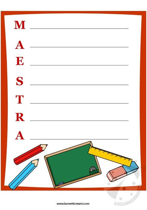 lettere per maestre di anno anno scolastico carta da lettere per maestra