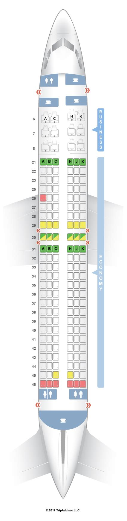 garuda plus seat layout seatguru seat map garuda indonesia boeing 737 800 738