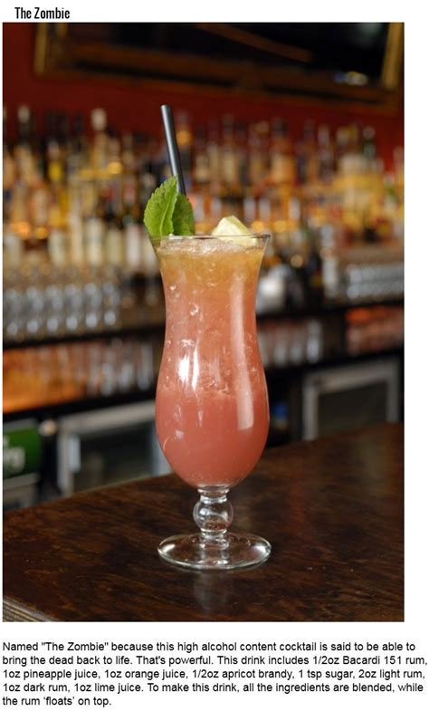 Top Drinks To Order At Bar by The 9 Deadliest Drinks You Can Order At The Bar 9 Pics