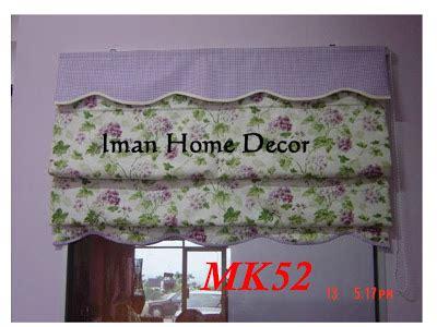 panduan cara memilih langsir dapur murah dan moden ala inggris lipatan kain tingkap idaman curtain n railing november