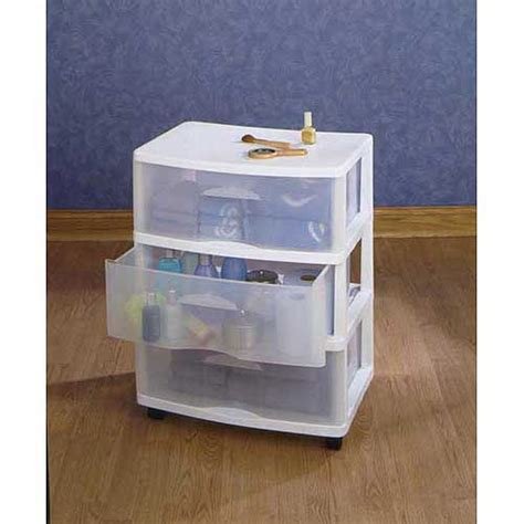 Plastic Storage Drawers Big W by 3 Drawer Large Cart Plastic Storage Plastic Rolling