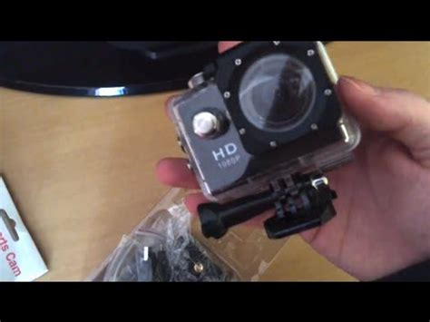 review unboxing hd sports sj4000 a9