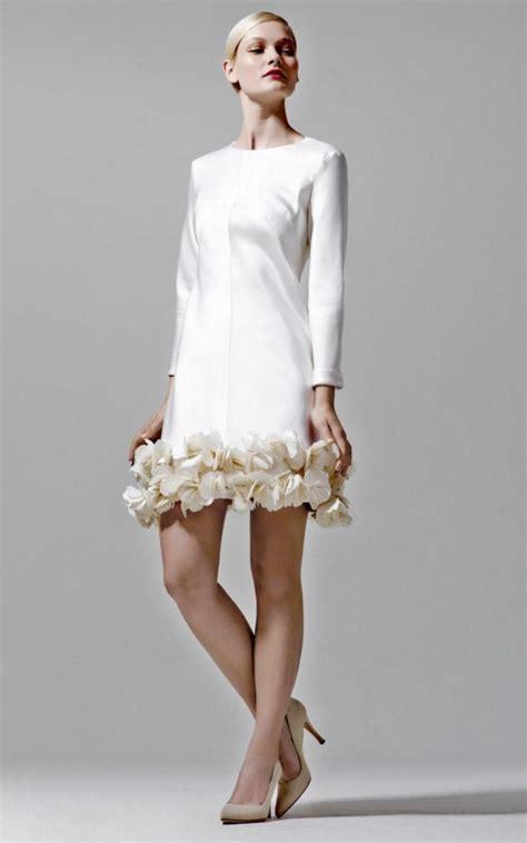 Brautmode Standesamt by Wie Sieht Das Perfekte Kleid F 252 R Standesamt Aus