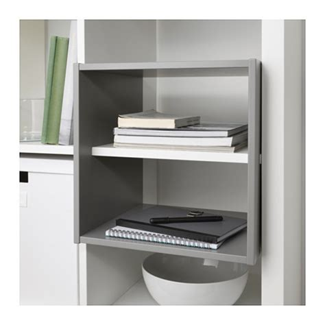 kallax shelf divider light grey 33x33 cm ikea