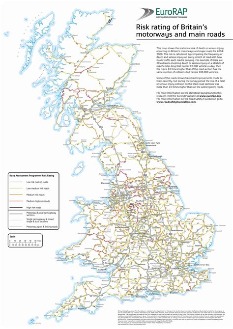 printable road map of united kingdom road map of great britain great britain road map
