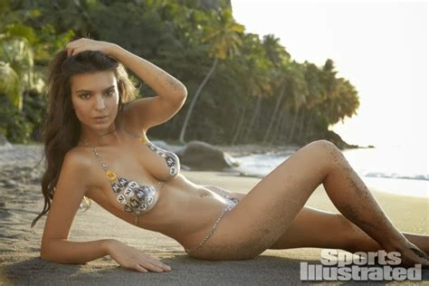 libro emily ratajkowski 2018 calendar emily ratajkowski shows off body paint bikinis for the sports illustrated 2014 swimsuit issue