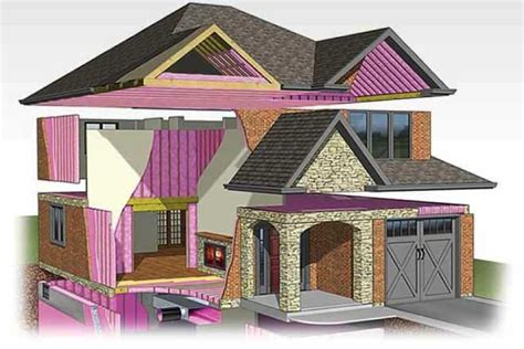 Insulating Your Home Builder Tips Healthier Insulation Green Science Policy Institute