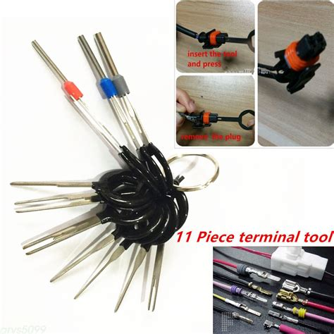 Terminal Removal Car Key Tool Wiring Connector Pin Release