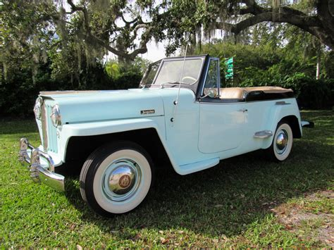 1948 Willys Jeepster Vintage Motors Of Sarasota Inc