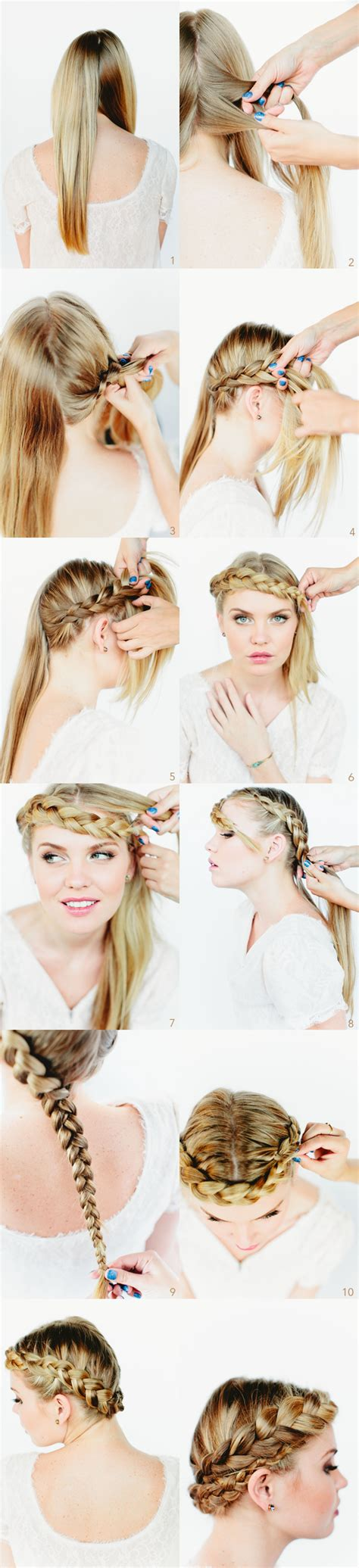 15 braided updo hairstyles tutorials 9 types of braided hairstyle tutorials you should