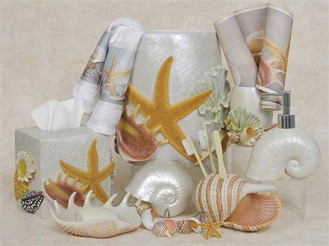 seashell themed bathroom decor bath accessory clearance sale oceanstyles