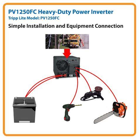 tripp lite power industrial inverter 1250w