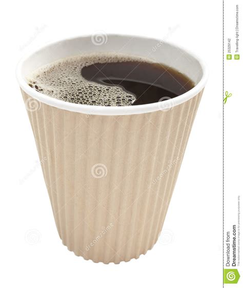 Takeaway Coffee stock photo. Image of disposable, nobody   25329142
