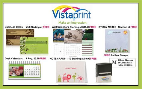 vistaprint note card template 27 for 70 worth of custom printed vistaprint products