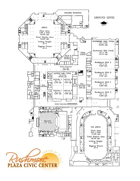 civic center floor plan rushmore plaza civic center rapid city sd