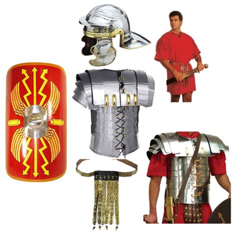 Shopping For Home Decor by Customized Roman Soldier Costume Full Armor Set Av427