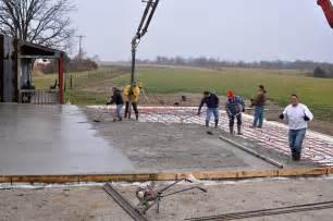 Pole Barn House Floor Plans apm restoration center concrete slab poured