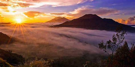 drive up mount batur sunrise mount batur trekking alam amazing adventures