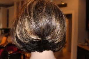 the bob haircut style front and back short stacked haircut so fun michele busch