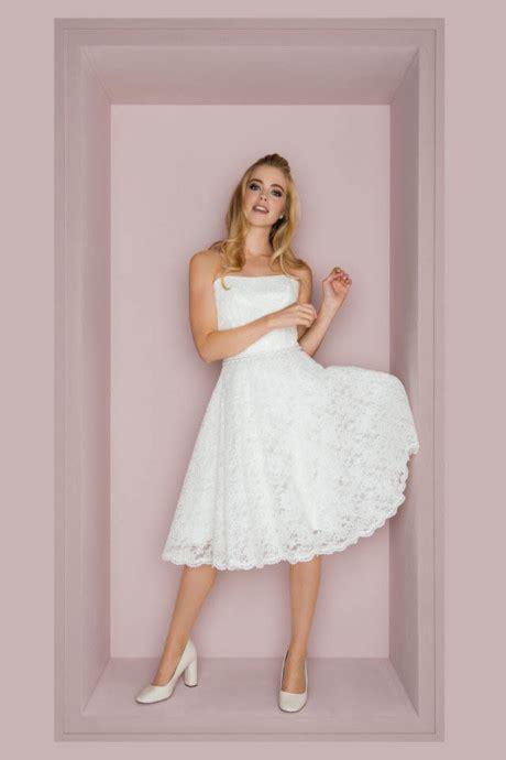 hochzeitskleid kurz standesamt kurze brautkleider standesamt hochzeitskleider l 228 ssig frech