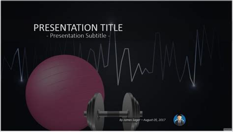 Free Fitness Powerpoint 53080 Sagefox Free Powerpoint Templates Fitness Powerpoint Presentation Templates