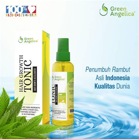 Green Tonic Obat Penumbuh Rambut perawatan rambut rontok dan penumbuh rambut botak bandung perawatan rambut alami