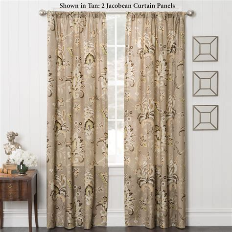 jacobean curtains zara jacobean energy efficient curtain panels