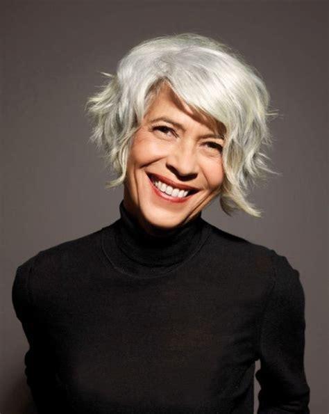 short grey hair for 40s women pinterest 51 best hairstyles for women over 40 images on pinterest