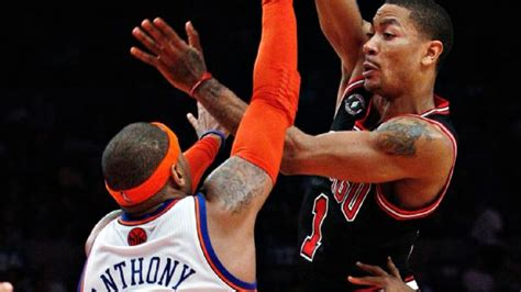 derrick rose stats news videos highlights pictures rose on recruiting melo to bulls not my job