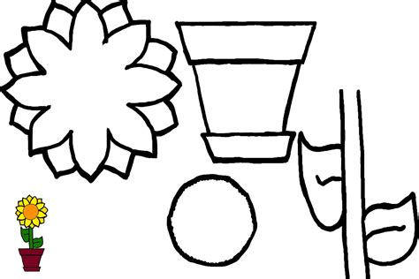 plants coloring pages preschool preschool flower garden art preschool activities for