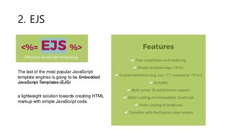 java template engine java script template engine 비교하기